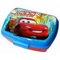 Box na svačinu Cars , Barva - Modro-červená