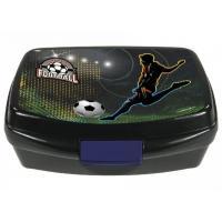 Box na svačinu Fotbal , Barva - Černo-zelená