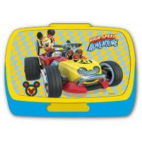 Box na svačinu Mickey , Barva - Žluto-modrá