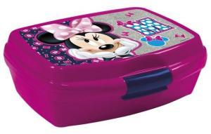 Box na desiatu Minnie , Barva - Tmavo ružová