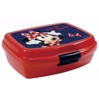 Box na desiatu Minnie , Barva - Červená