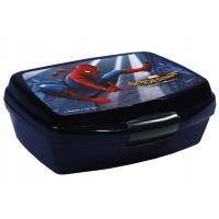 Box na desiatu Spiderman , Barva - Tmavo modrá