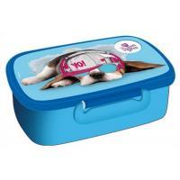 Box na desiatu SWEET PETS Psík , Barva - Světlo modrá