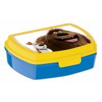 Box na svačinu Tajný život mazlíčků , Barva - Modro-žltá