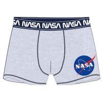 BOXERKY NASA , Velikost - 134/140 , Barva - Šedá