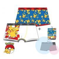 Boxerky Pokémon 2ks , Barva - Bielo-modrá , Velikost - 104/110
