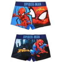 Boxerky Spiderman 2ks , Barva - Modrá , Velikost - 92/98