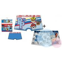 Boxerky Paw Patrol 2ks , Barva - Modro-šedá , Velikost - 92/98