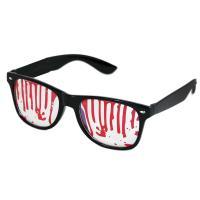 Brýle halloween s krví , Barva - Čierna