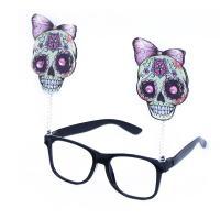 Brýle lebky, Čarodějnice , Barva - Čierna