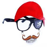 Okuliare pirátske s fúzy , Barva - Čierna