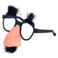 Brýle s nosem a knírem , Barva - Barevná