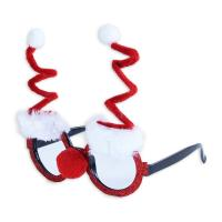 Brýle vánoční Santa Claus , Barva - Barevná