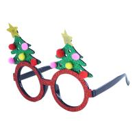 Brýle vánoční Strom , Barva - Barevná