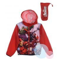 Bunda Avengers , Barva - Červená , Velikost - 116