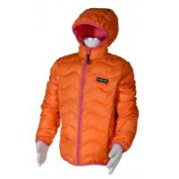 bunda ultra ľahká , Velikost - 134 , Barva - Oranžová