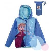 Bunda Frozen jesenné , Velikost - 104 , Barva - Modrá