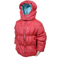Bunda Puffy , Barva - Červená , Velikost - 104