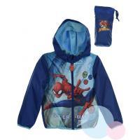 Bunda Spiderman , Velikost - 98 , Barva - Modrá