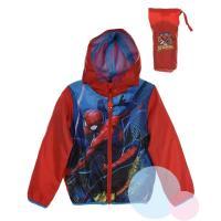 Bunda Spiderman , Velikost - 98 , Barva - Červená