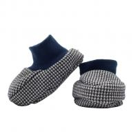 Capáčky Baby Service Retro , Velikost boty - 0-6 měsíců , Barva - Šedá