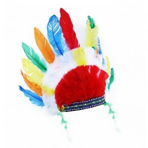 Čelenka indiánská , Barva - Barevná
