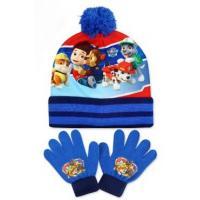Čiapka a rukavice Paw Patrol , Velikost čepice - 52-54 , Barva - Světlo modrá