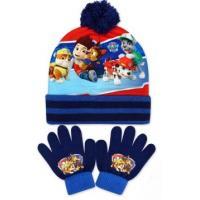 Čiapka a rukavice Paw Patrol , Velikost čepice - 52-54 , Barva - Tmavo modrá