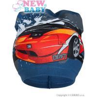 Čiapka auto , Barva - Modrá , Velikost - 104