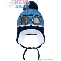 Čiapka okuliare , Barva - Modrá , Velikost - 104