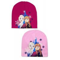 Čiapka Frozen , Velikost čepice - 54 , Barva - Tmavo ružová