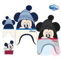 Čepice Mickey baby , Barva - Tmavo modrá , Velikost čepice - 48