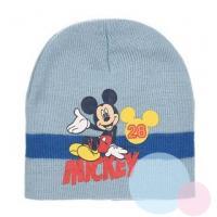 Čiapka Mickey , Barva - Světlo modrá , Velikost čepice - 52