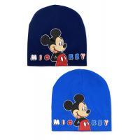 Čiapka Mickey Mouse , Velikost čepice - 52 , Barva - Světlo modrá