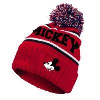 Čiapka Mickey Mouse , Velikost čepice - 52 , Barva - Červená
