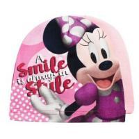 Čepice Minnie Mouse , Barva - Svetlo ružová , Velikost čepice - 52