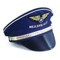 Čepice pilot , Barva - Tmavo modrá