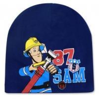 Čiapka Požiarnik Sam , Velikost čepice - 54 , Barva - Tmavo modrá