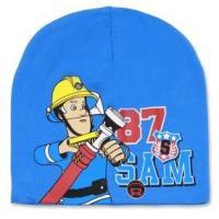 Čiapka Požiarnik Sam , Velikost čepice - 54 , Barva - Světlo modrá