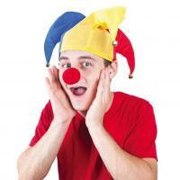 Čepice s rolničkama a nos klauna , Barva - Barevná