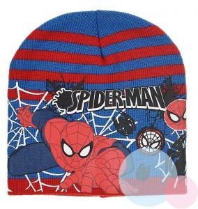 Čiapka Spiderman , Barva - Modro-červená , Velikost čepice - 52
