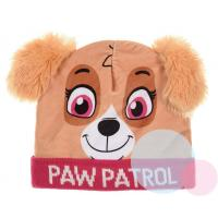 Čiapka Paw Patrol , Velikost čepice - 52 , Barva - Malinová