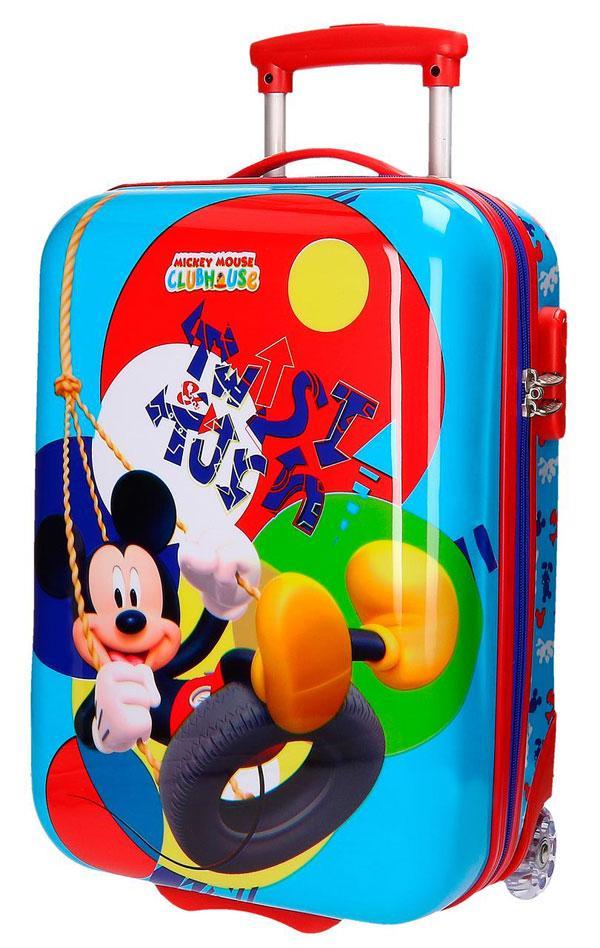 381d48c15f Cestovný kufor ABS Mickey Twist