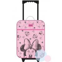 Cestovný kufor Minnie , Barva - Svetlo ružová