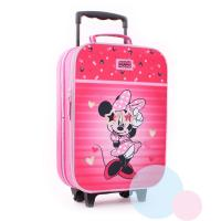 Cestovní kufr Minnie , Barva - Tmavo ružová