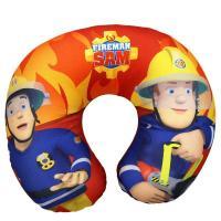 CESTOVNÝ VANKÚŠIK hasič Sam , Barva - Červeno-žltá