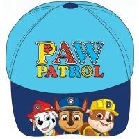 Šiltovka Paw Patrol , Velikost čepice - 52 , Barva - Světlo modrá