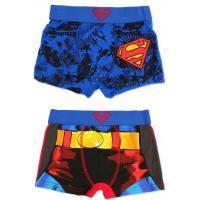 Boxerky Superman 2ks , Barva - Modrá , Velikost - 104/110