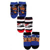 PONOŽKY PAW PATROL kotníčkové , Velikost ponožky - 23-26 , Barva - Barevná