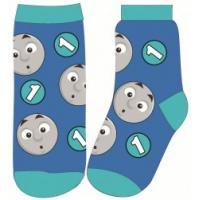 PONOŽKY MAŠINKA TOMÁŠ , Velikost ponožky - 23-26 , Barva - Modrá